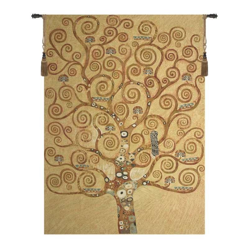Klimt Tree of Life Large European Tapestries