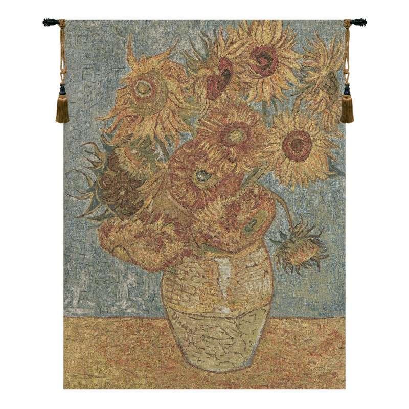 Vincent Sunflowers European Tapestries