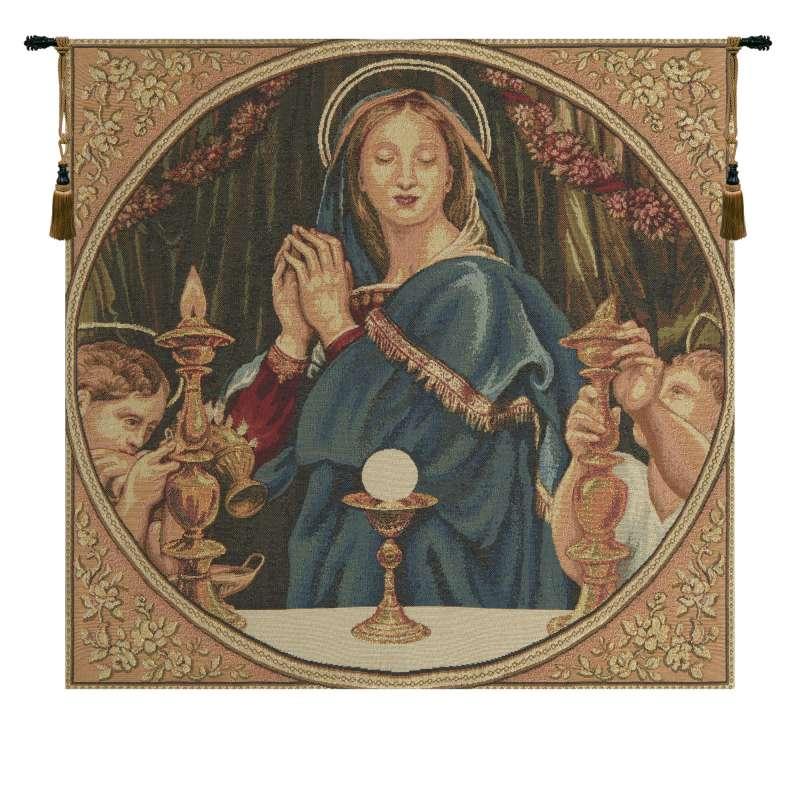 Madonna della Eucarestia European Tapestries