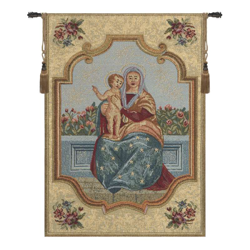 Madonna of the Rose European Tapestries