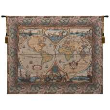 Orbis with Border Italian Tapestry