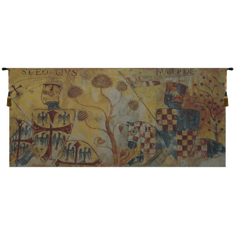 Chevaliers Redux Flanders Tapestry Wall Hanging