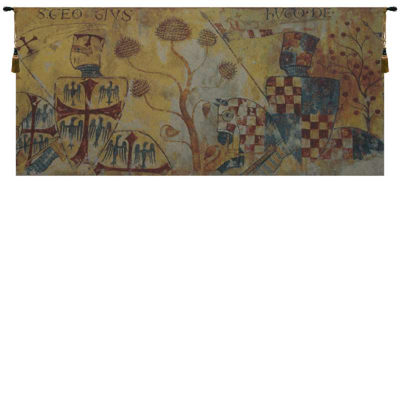 Chevaliers Redux Belgian Tapestry Wall Hanging