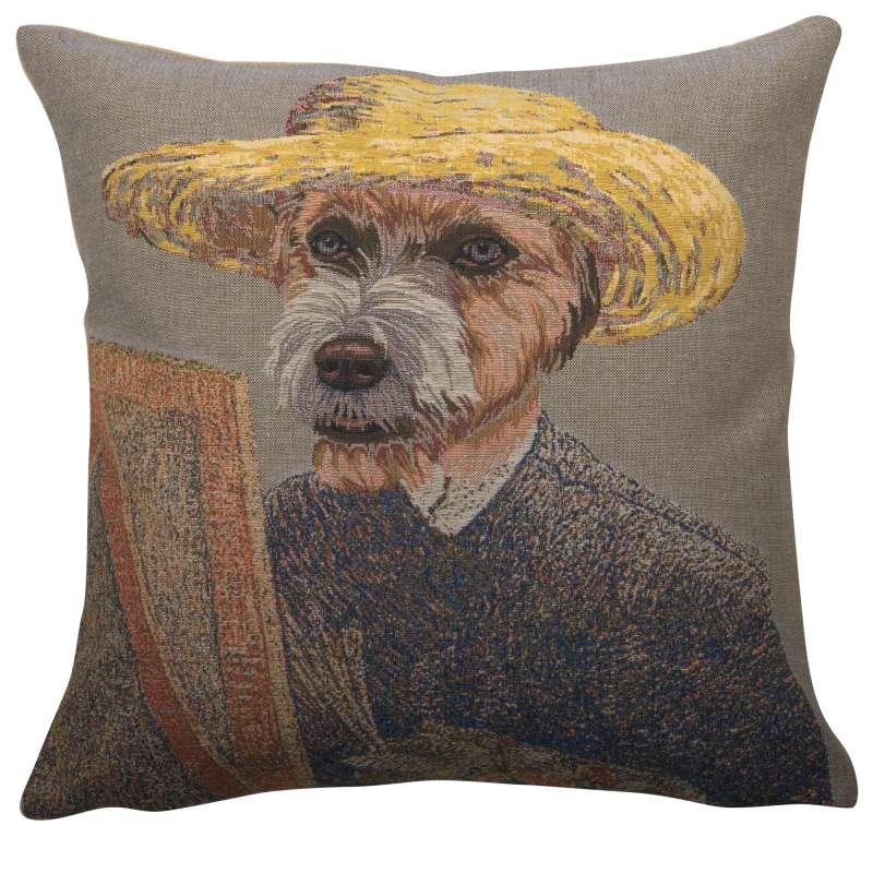 Van Gogh Dog European Cushion Cover