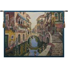Venice Venetie Light Belgian Tapestry Wall Hanging