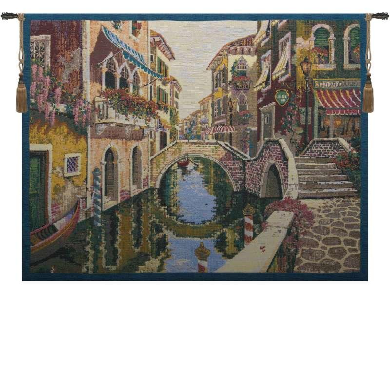 Venice Venetie Light Belgian Tapestry Wall Hanging