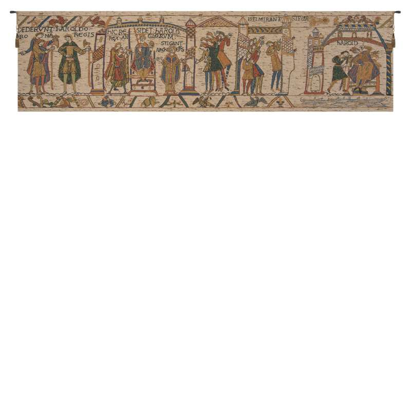 Bayeux King Harold Belgian Tapestry