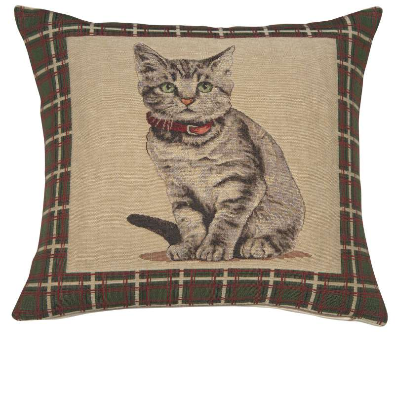 Gatto Italian Tapestry Cushion