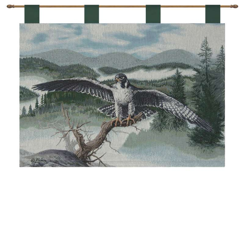Vigilance II Tapestry of Fine Art