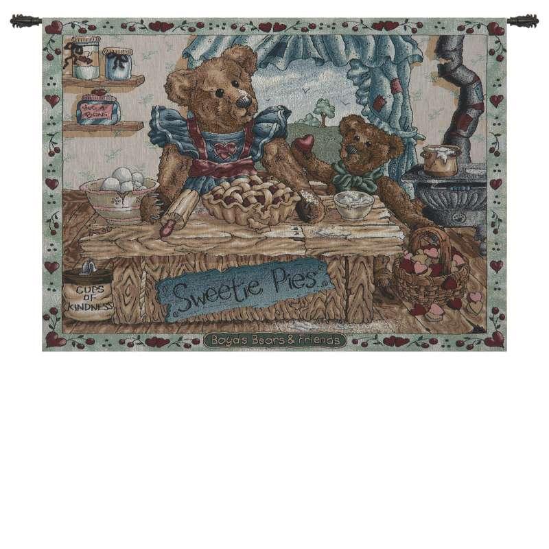 Sweetie Pies Fine Art Tapestry