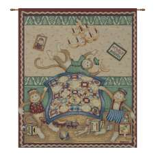 Monkey Business Fine Art Tapestry