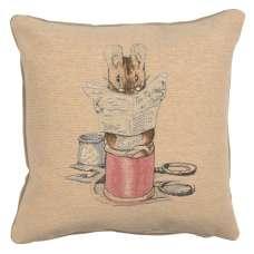 Tailor or Gloucester Beatrix Potter  European Cushion Cover