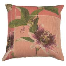 Spring Blossom Pink French Tapestry Cushion