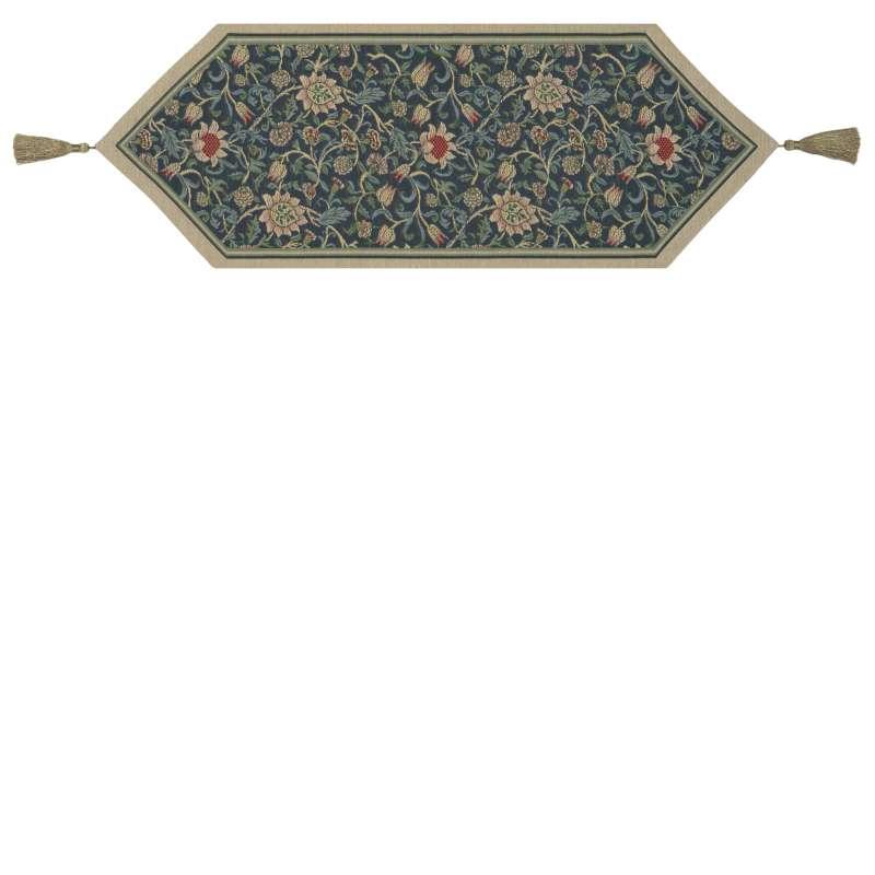 Fleur De Morris Blue Tapestry Table Mat