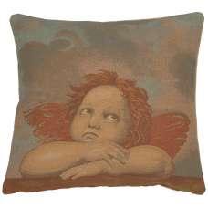 Raphael's Angel Right Italian Tapestry Cushion