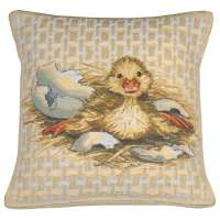 Easter Duck I Decorative Tapestry Pillow