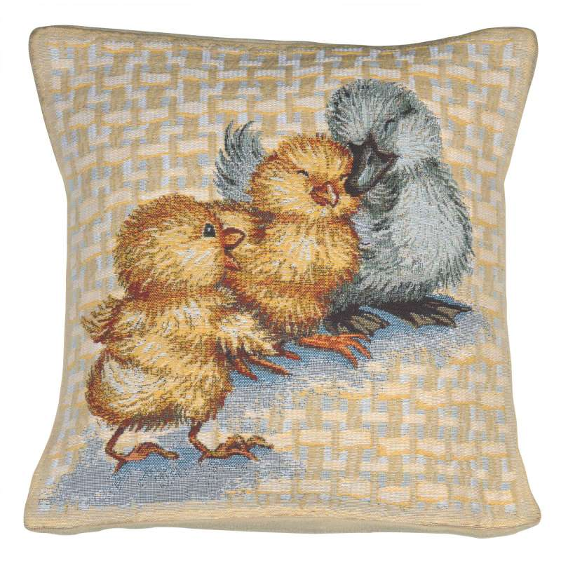 Easter Duck II Decorative Tapestry Pillow