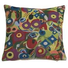 Klimt Swirls Belgian Cushion Cover