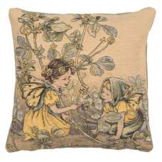 Black Medick Fairy Cicely Mary Barker  European Cushion Cover