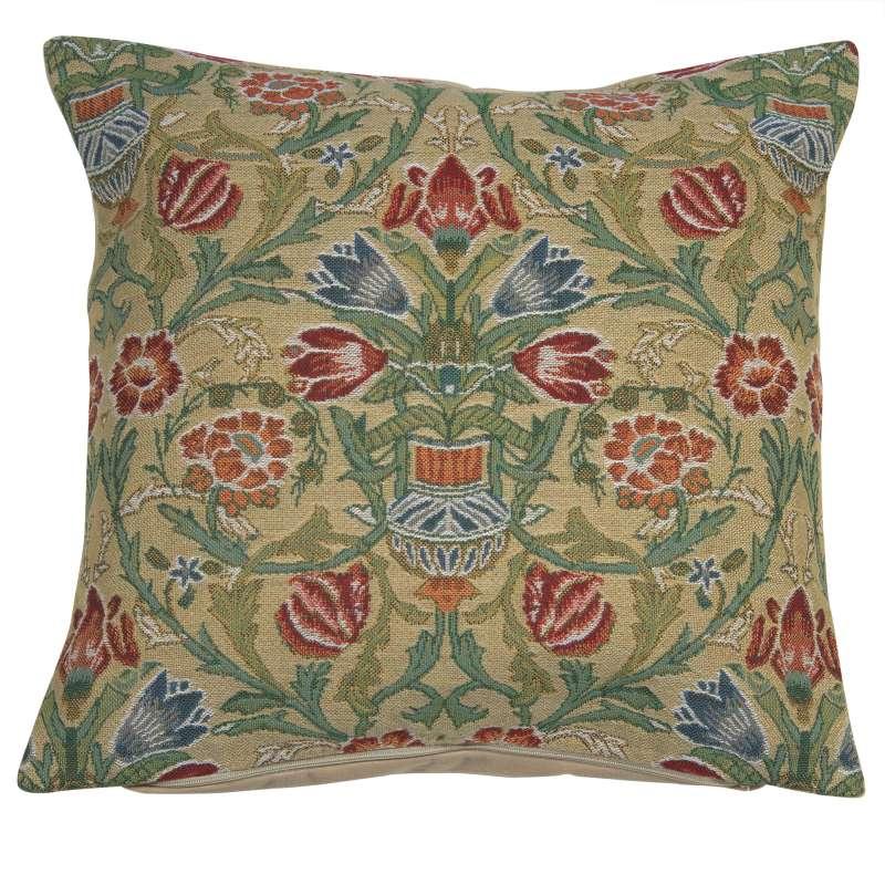 Single-Stem Belgian Cushion Cover