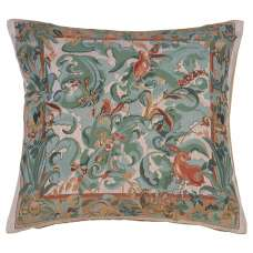 Animals with Arisoloches Light French Tapestry Cushion