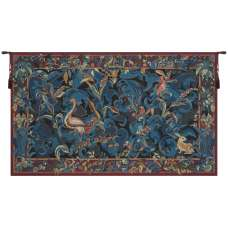 Animals Arisoloches Blue French Tapestry