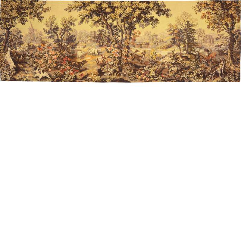 Les Quatre Saisons French Tapestry Wall Hanging