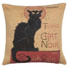 Tournee Du Chat Noir Small European Cushion Cover