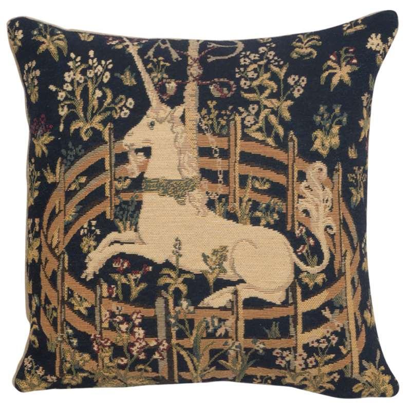 Captive Unicorn I European Cushion Cover