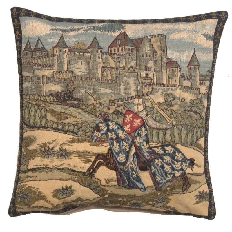 Medieval Knight European Cushion Cover