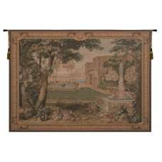 Verdure Fontaine  French Tapestry