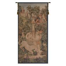 Portiere Licorne Fontaine French Tapestry