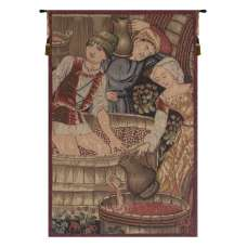 Le Pressoir Extrait French Tapestry