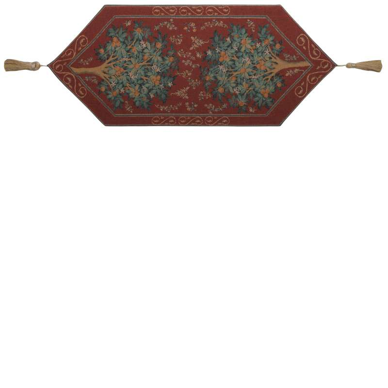 Orange Tree II Tapestry Table Linen