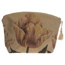 Orange Tullip Purse Tapestry Bag