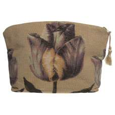 Purple Tullip Purse Tapestry Bag