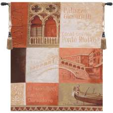 Ponte Rialto Fine Art Tapestry