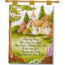Amazing Grace Fine Art Tapestry