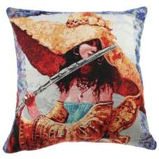 The Melody She Plays III Decorative Pillow Cushion Cover