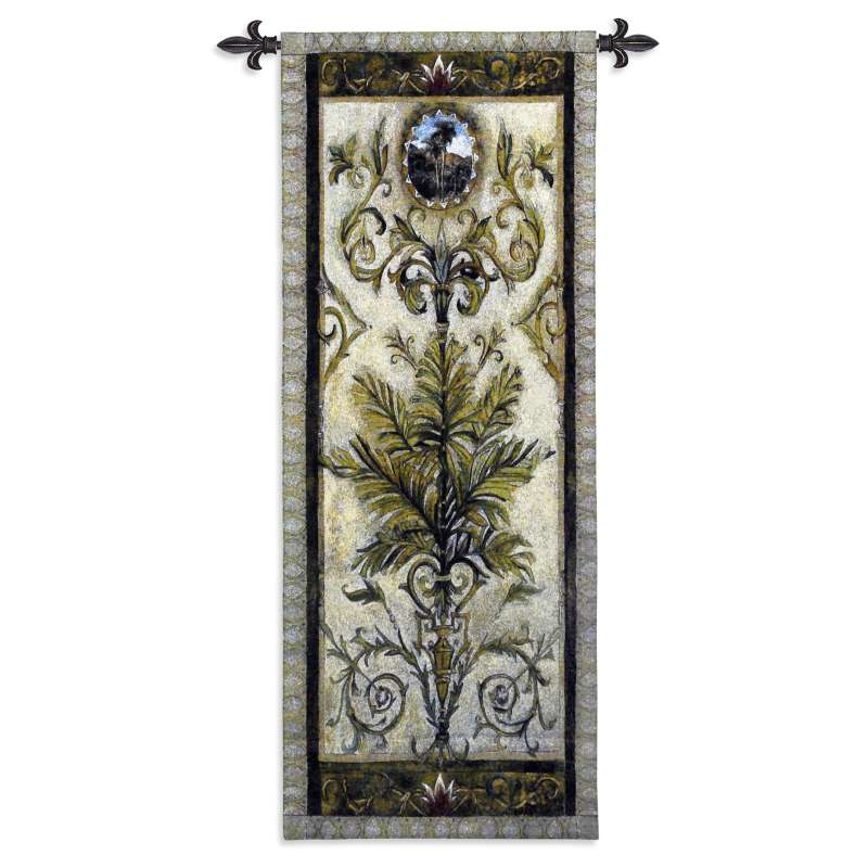 Textured View II Tapestry Wall Hanging