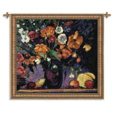 Poppies Tapestry Wall Hanging