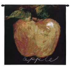 Green Apple Tapestry Wall Hanging