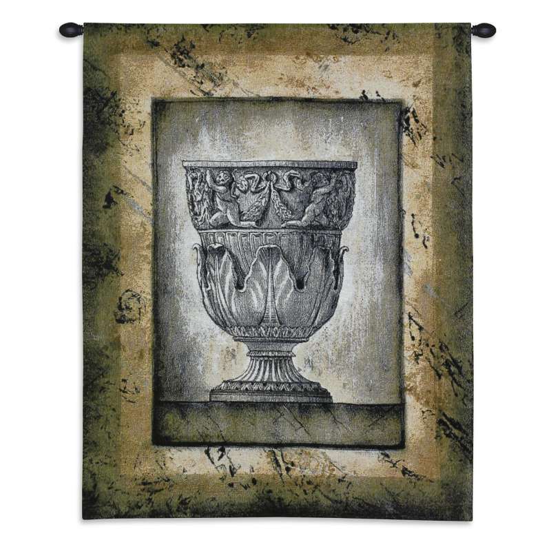 Cas Antico II Urn Tapestry Wall Hanging