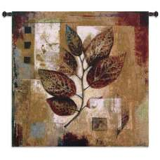 Modernist Autumn Tapestry Wall Hanging