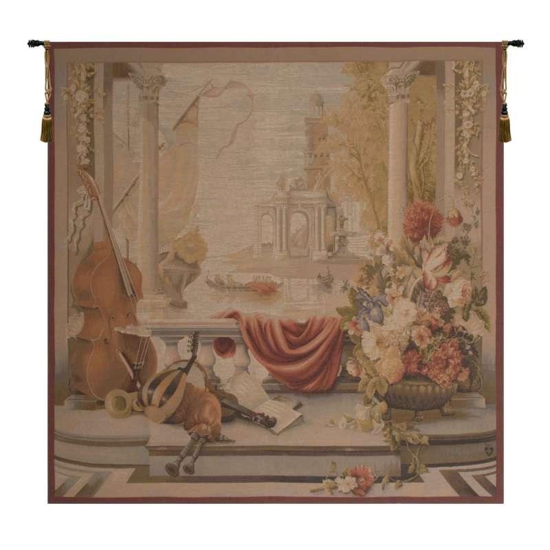 Le Port De Toscane I French Tapestry
