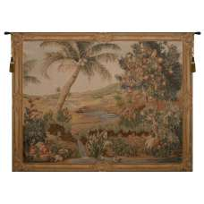 L'Oasis I French Tapestry