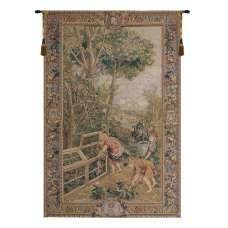 Enfants Jardiniers Belgian Tapestry Wall Hanging