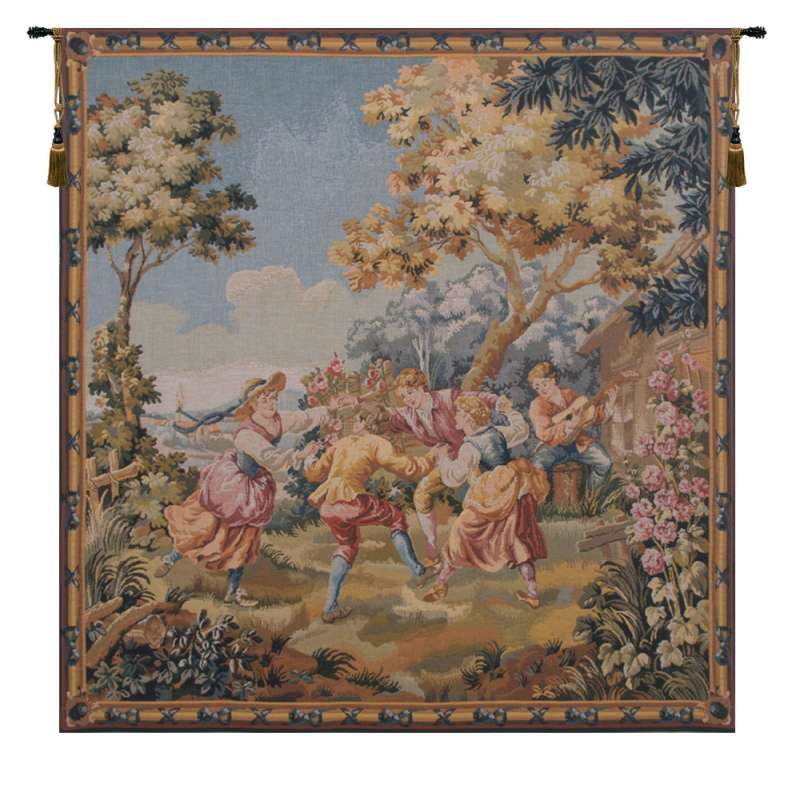 Children Flanders Tapestry Wall Hanging