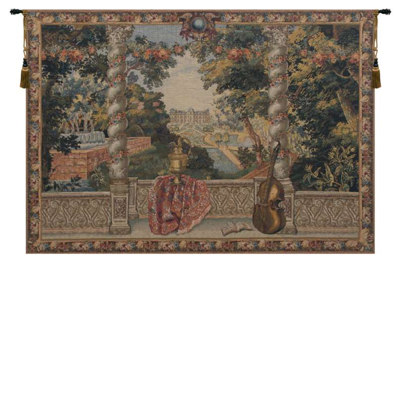 Domaine d'Enghien Belgian Tapestry Wall Hanging