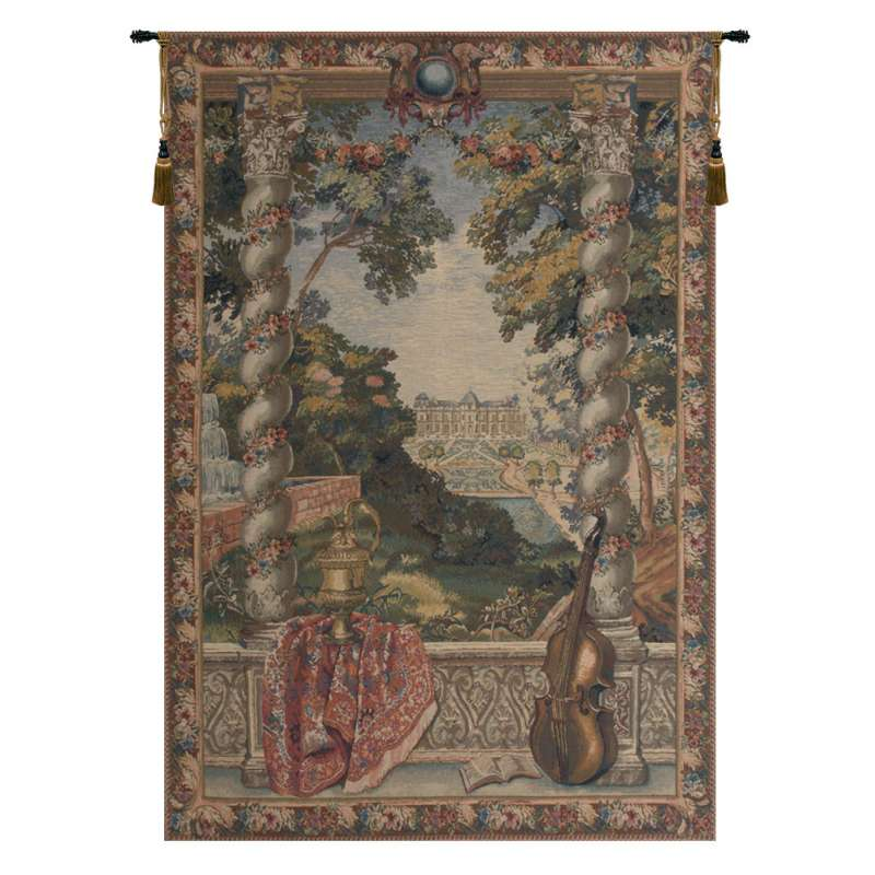 Chateau D Belgian Tapestry Wall Hanging